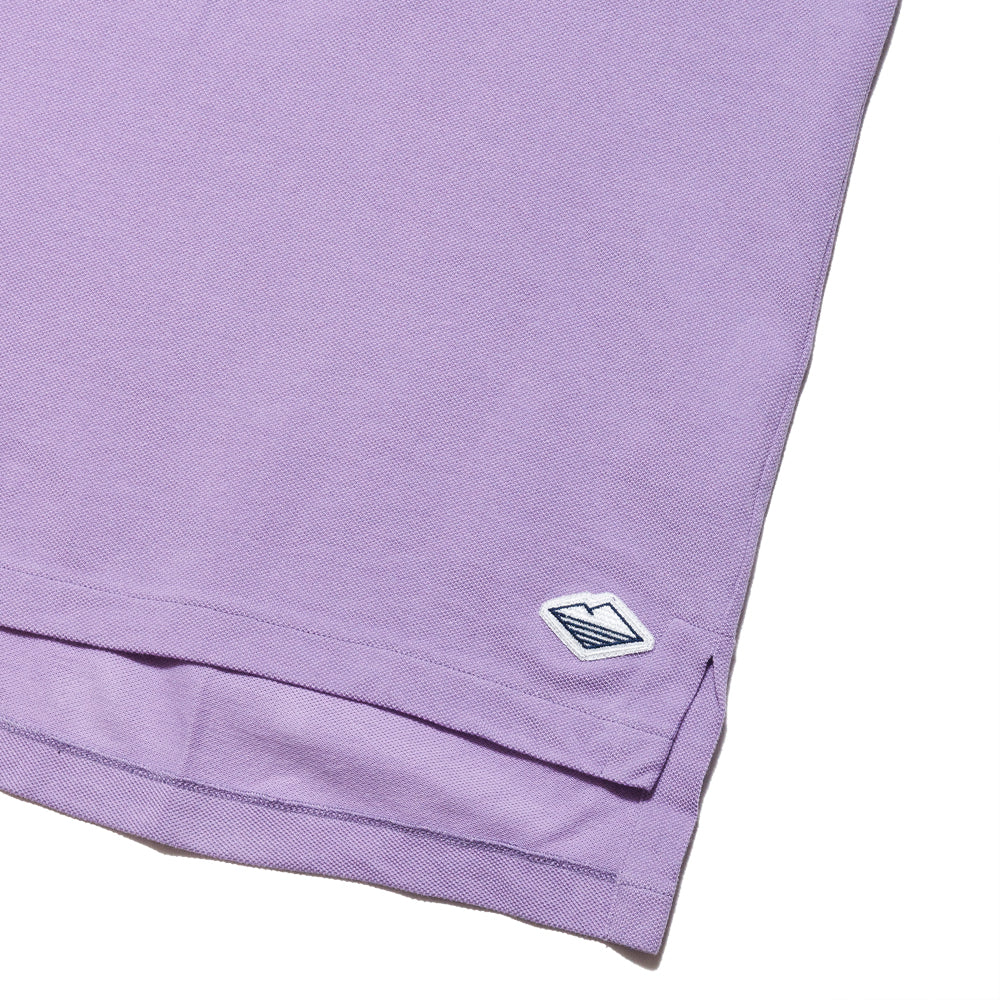Battenwear Polo Shirt Lavender at shoplostfound, tag
