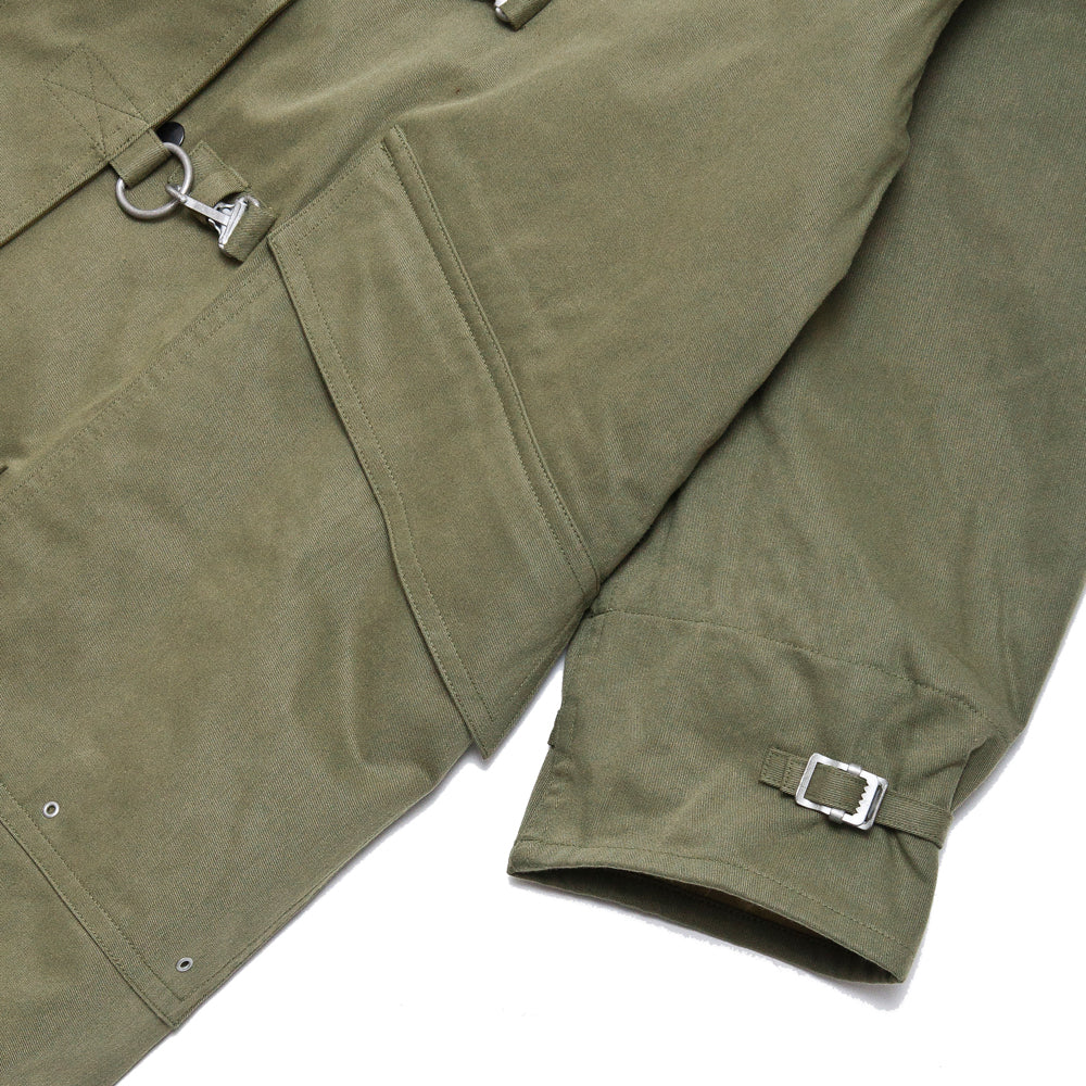 Beams Plus Fireman Coat Khaki
