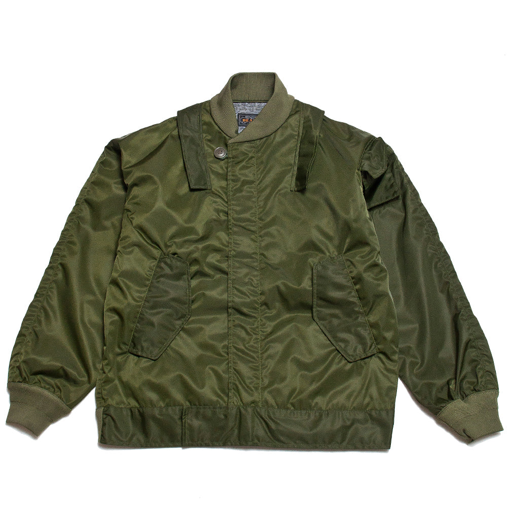 Beams Plus Military Submarine Jacket Olive