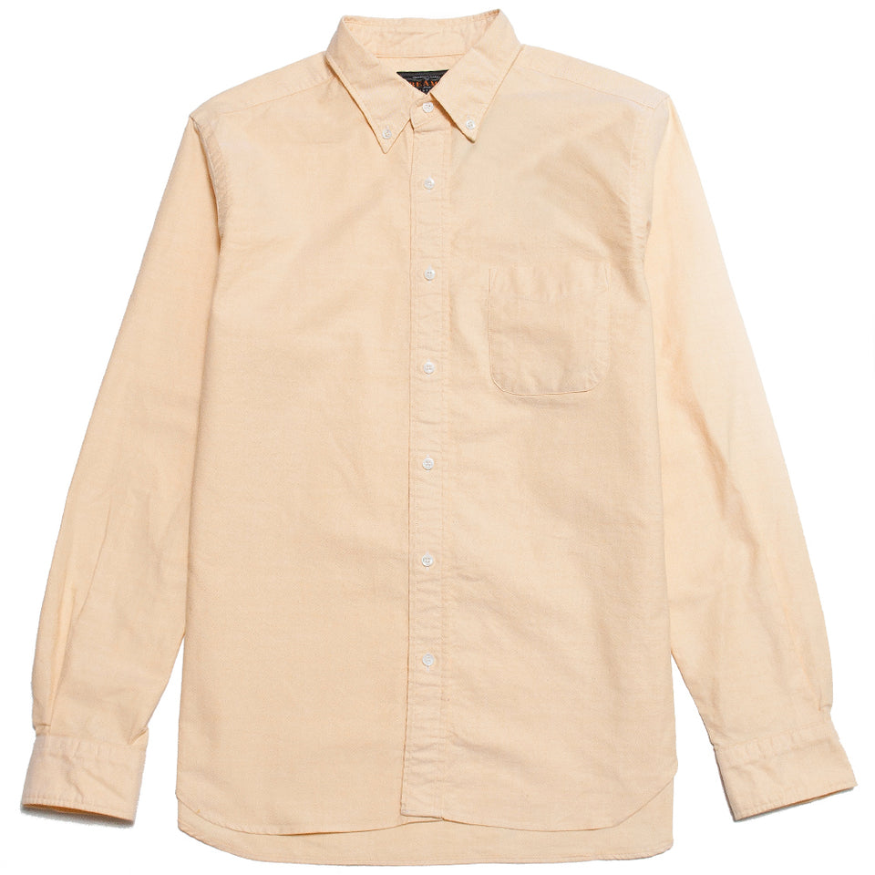 Beams Plus Oxford Button Down Yellow shoplostfound, front
