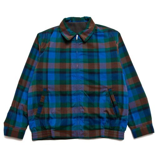 Beams Plus Reversible Blouson Blue/Green
