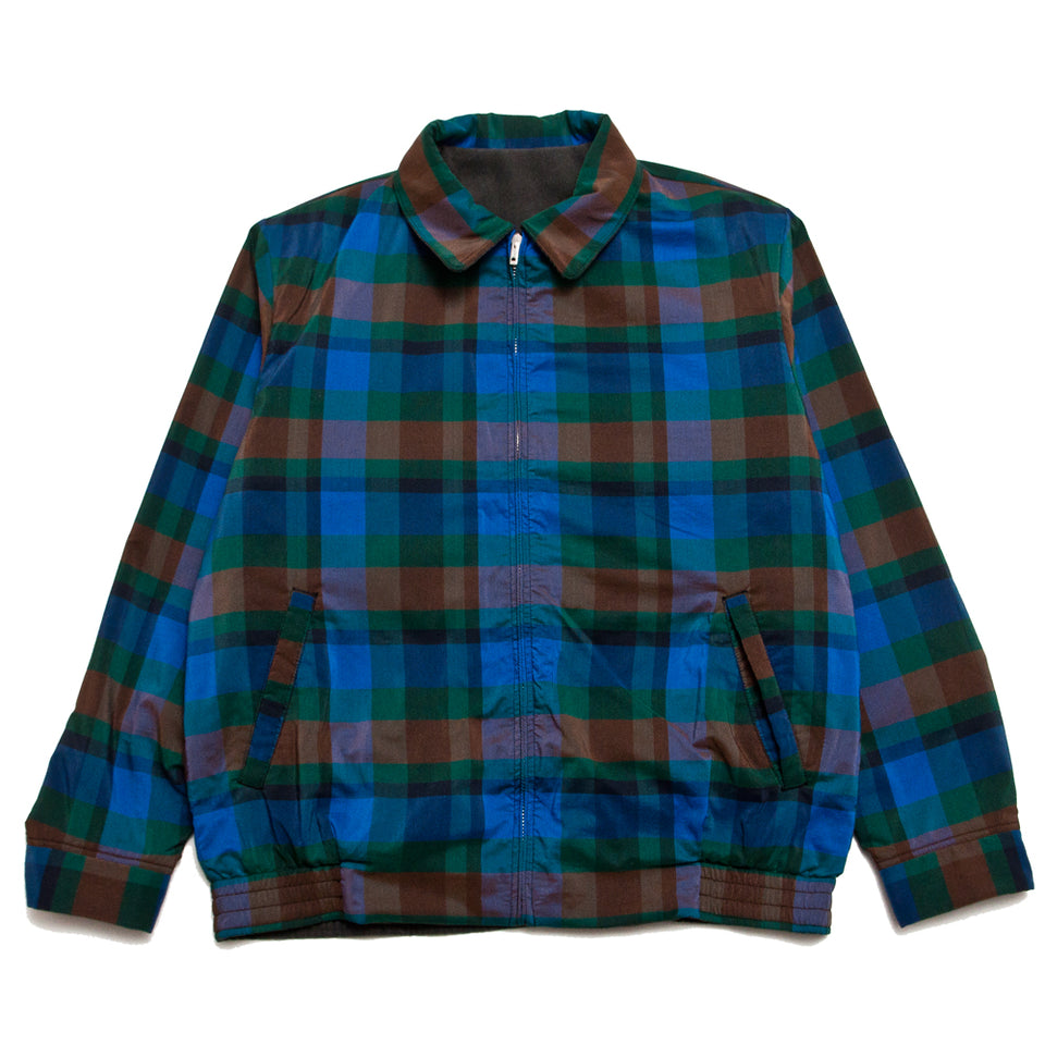 Beams Plus Reversible Blouson Blue/Green at shoplostfound, front 1