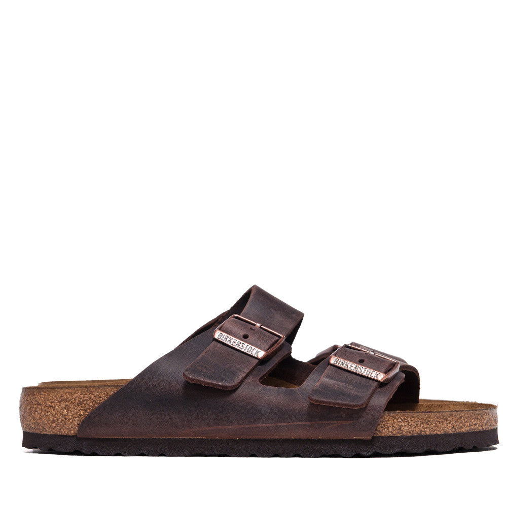 Birkenstock Arizona Havana at shoplostfound, side