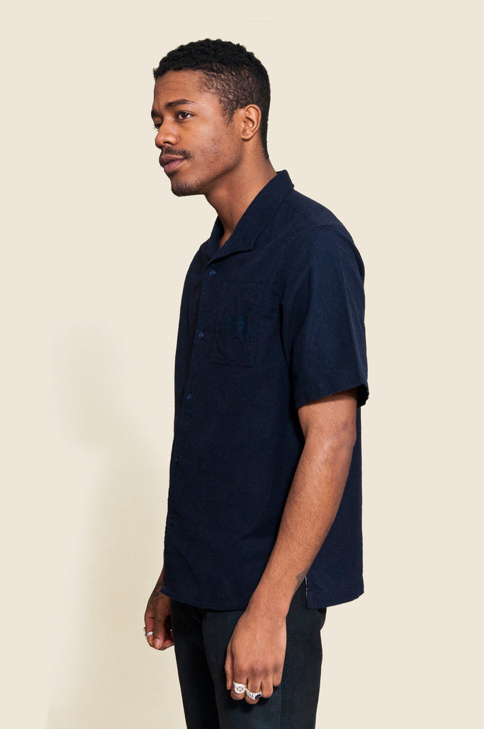 Garbstore NCB Slacker Shirt Navy at shoplostfound, Jason