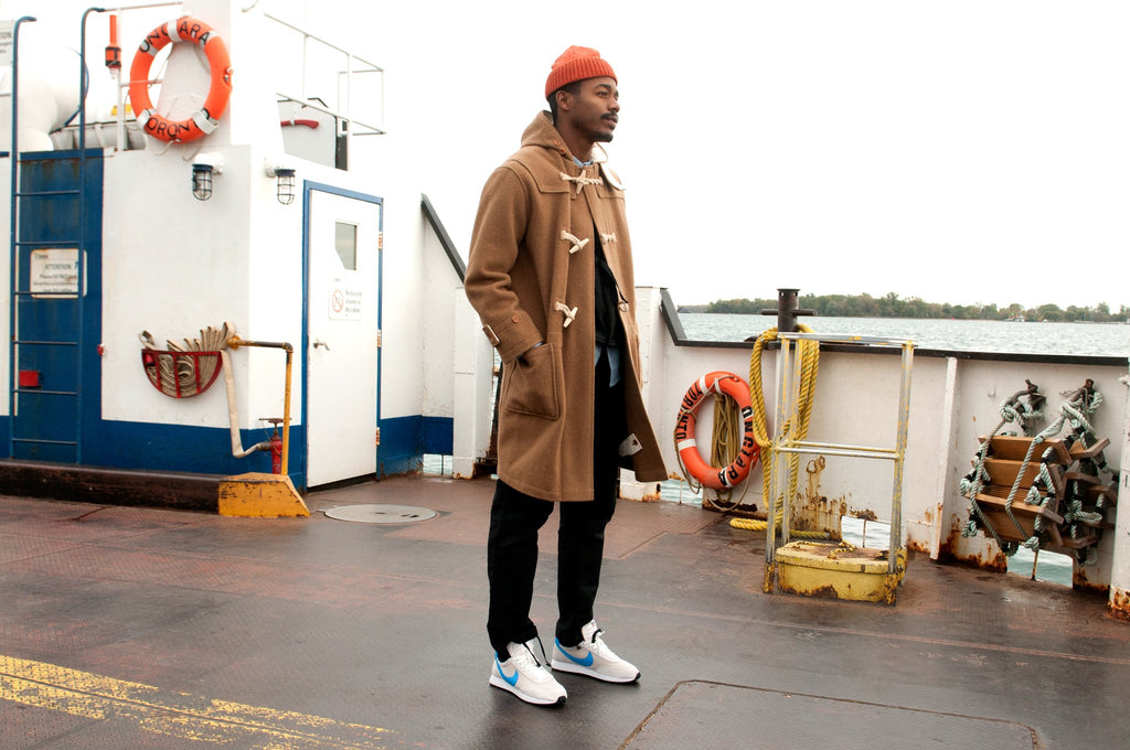 The Real McCoy's Lighthouse Duffle Coat at shoplostfound, fit
