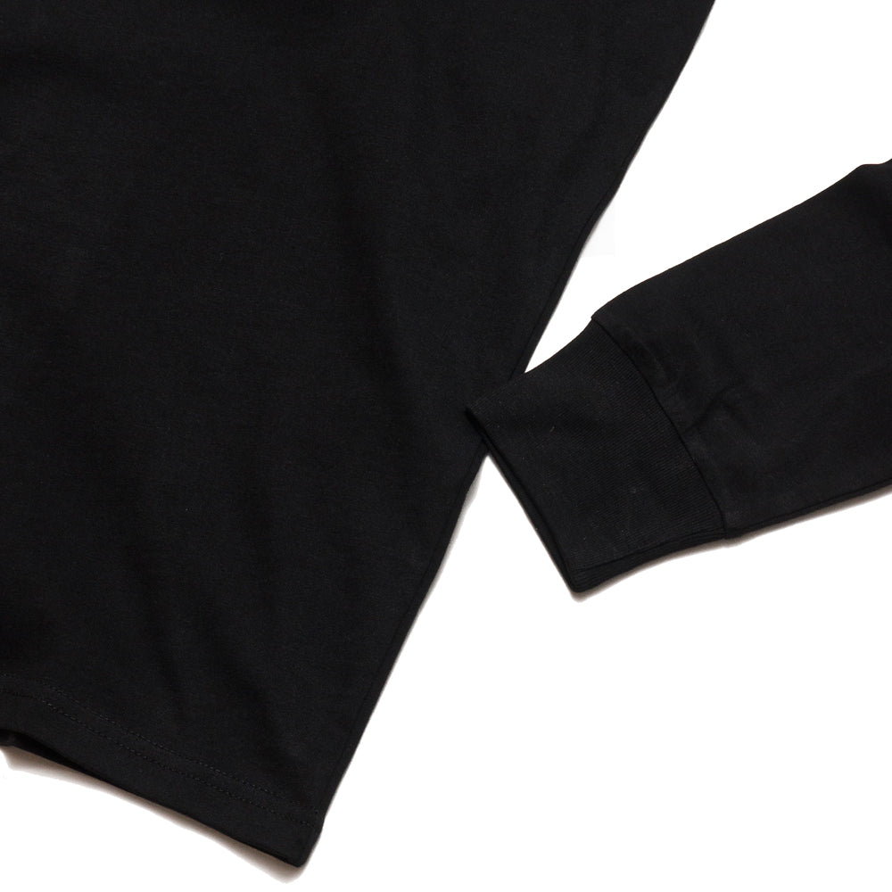 Carhartt W.I.P. Long Sleeve Pocket T-Shirt Black at shoplostfound, cuff