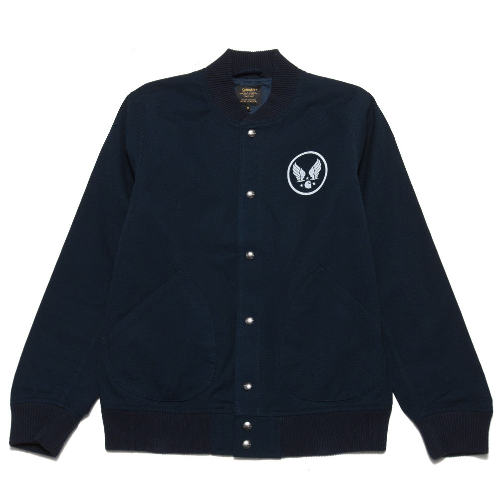 Carhartt W.I.P. Loop Emblem Jacket Navy at shoplostfound, front