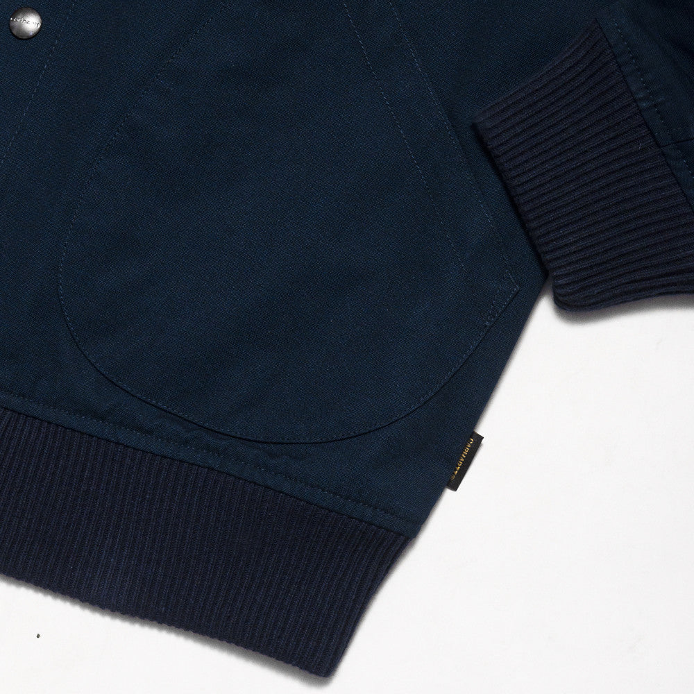 Carhartt W.I.P. Loop Emblem Jacket Navy at shoplostfound, detail