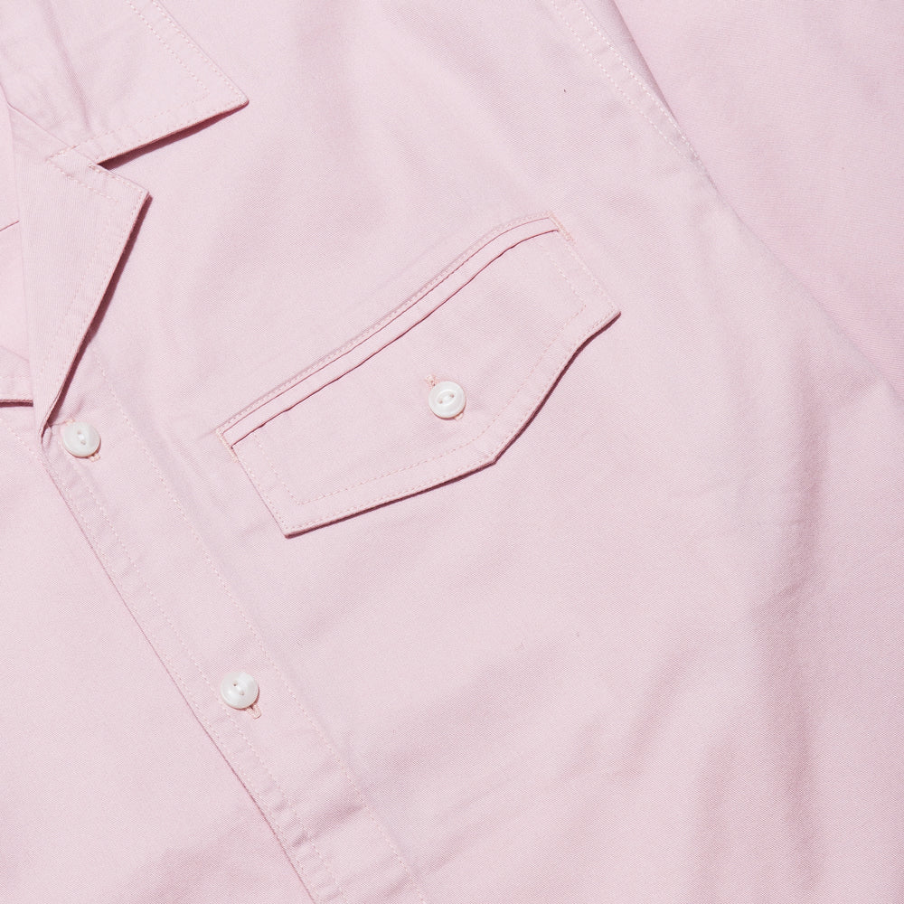 Carhartt W.I.P. S/S Clover Shirt Sandy Rose at shoplostfound, pocket