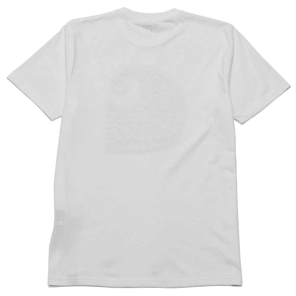 Carhartt W.I.P. S/S Duck Swarm T-Shirt White at shoplostfound, back