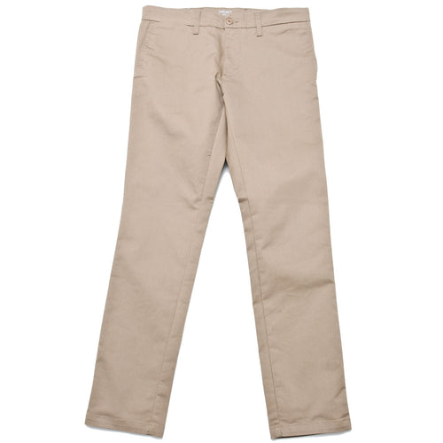 Carhartt W.I.P. Sid Pant Leather Rinsed at shoplostfound, front