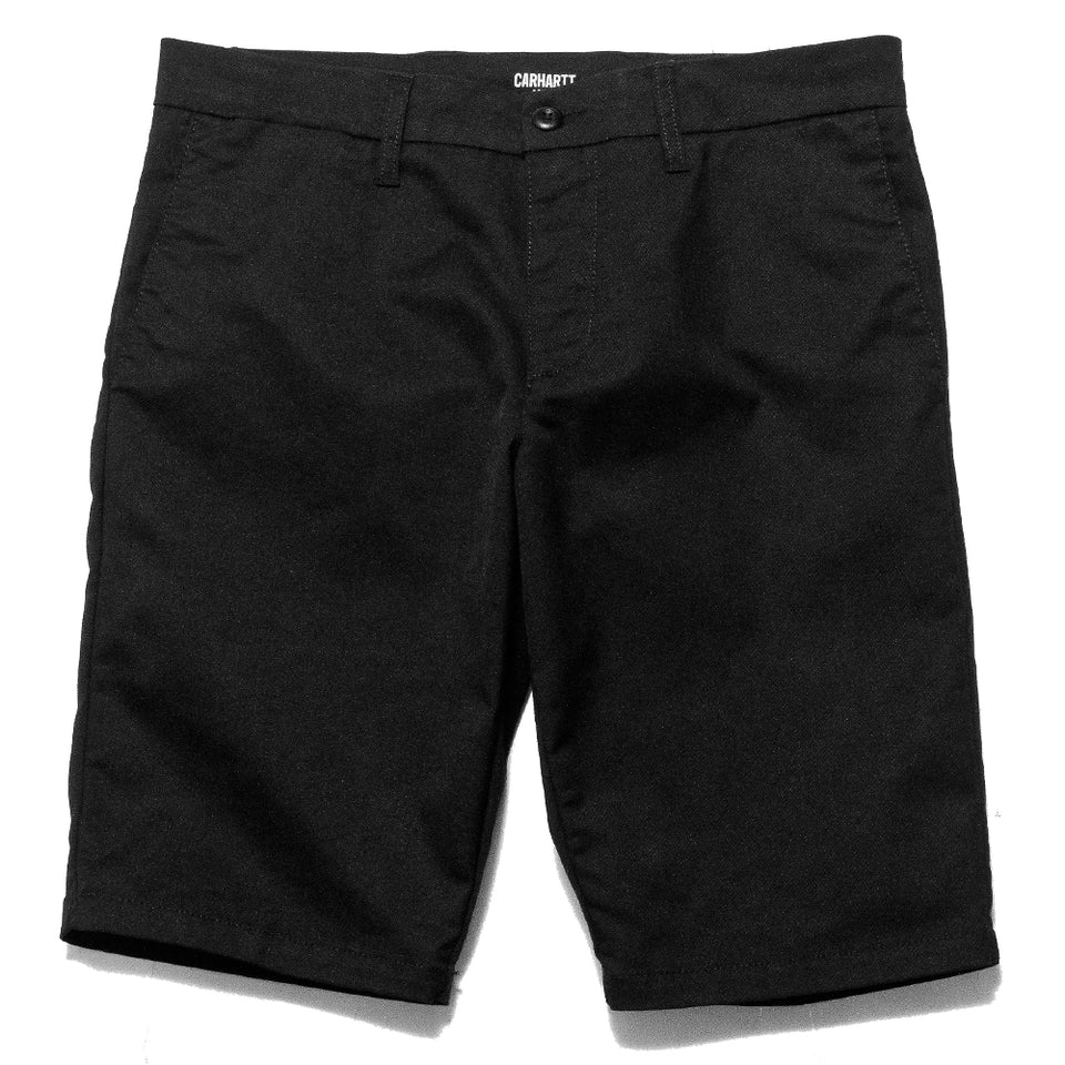 Carhartt W.I.P. Sid Short Black Rinsed at shoplostfound, front