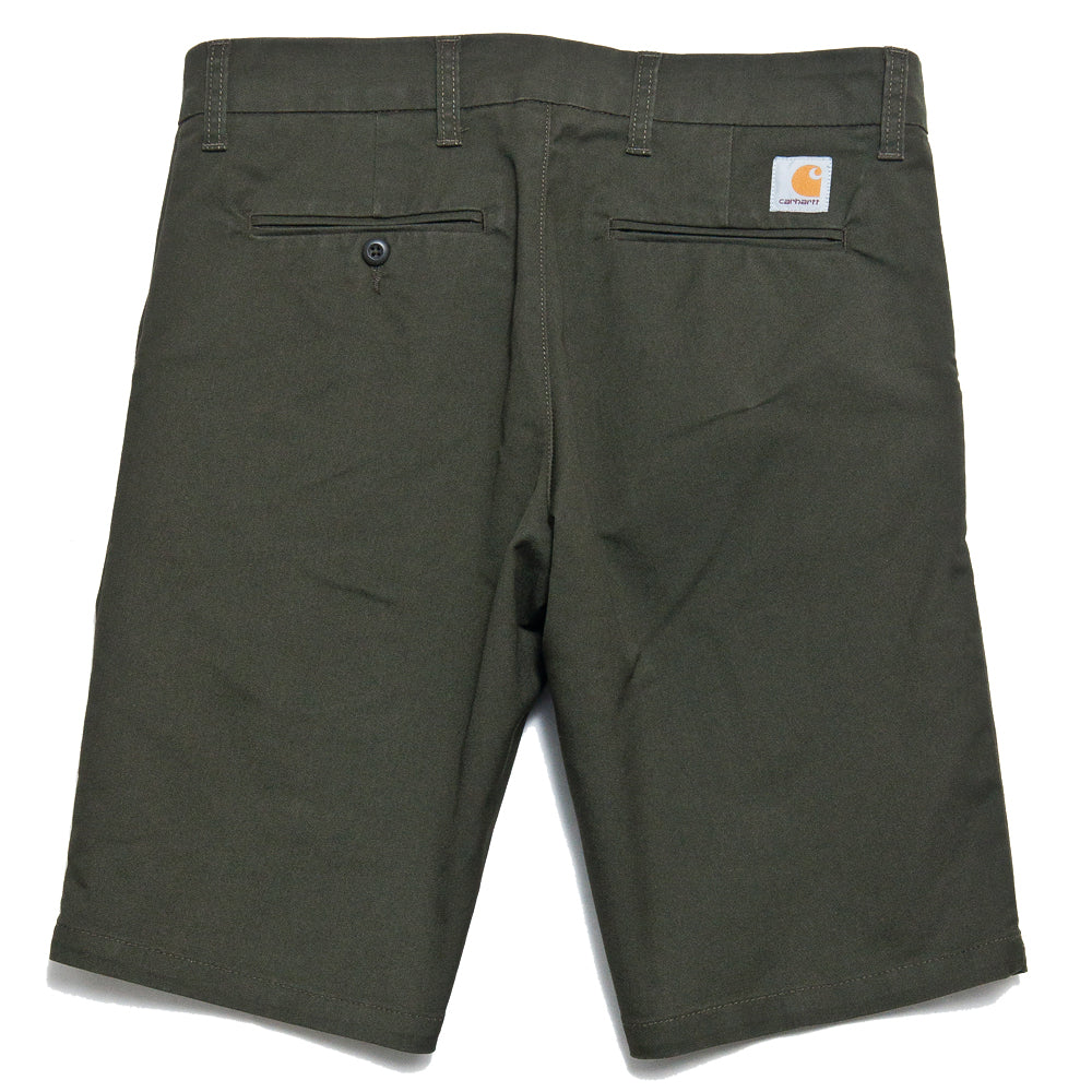 Carhartt W.I.P. Sid Short Cypress Rinsed at shoplostfound, back