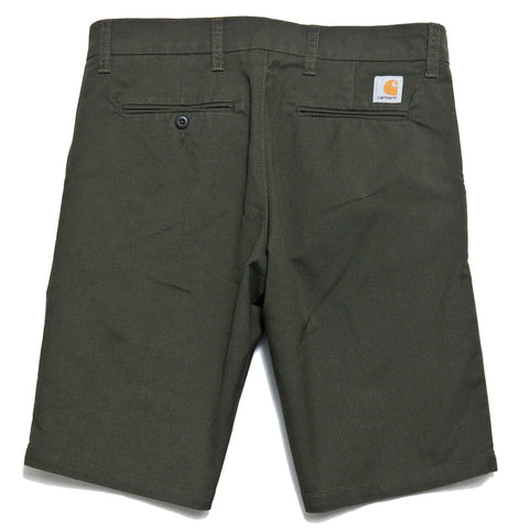 Carhartt W.I.P. Sid Short Cypress Rinsed at shoplostfound, front