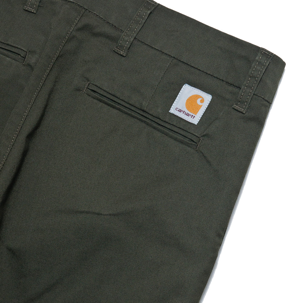 Carhartt W.I.P. Sid Short Cypress Rinsed at shoplostfound, detail