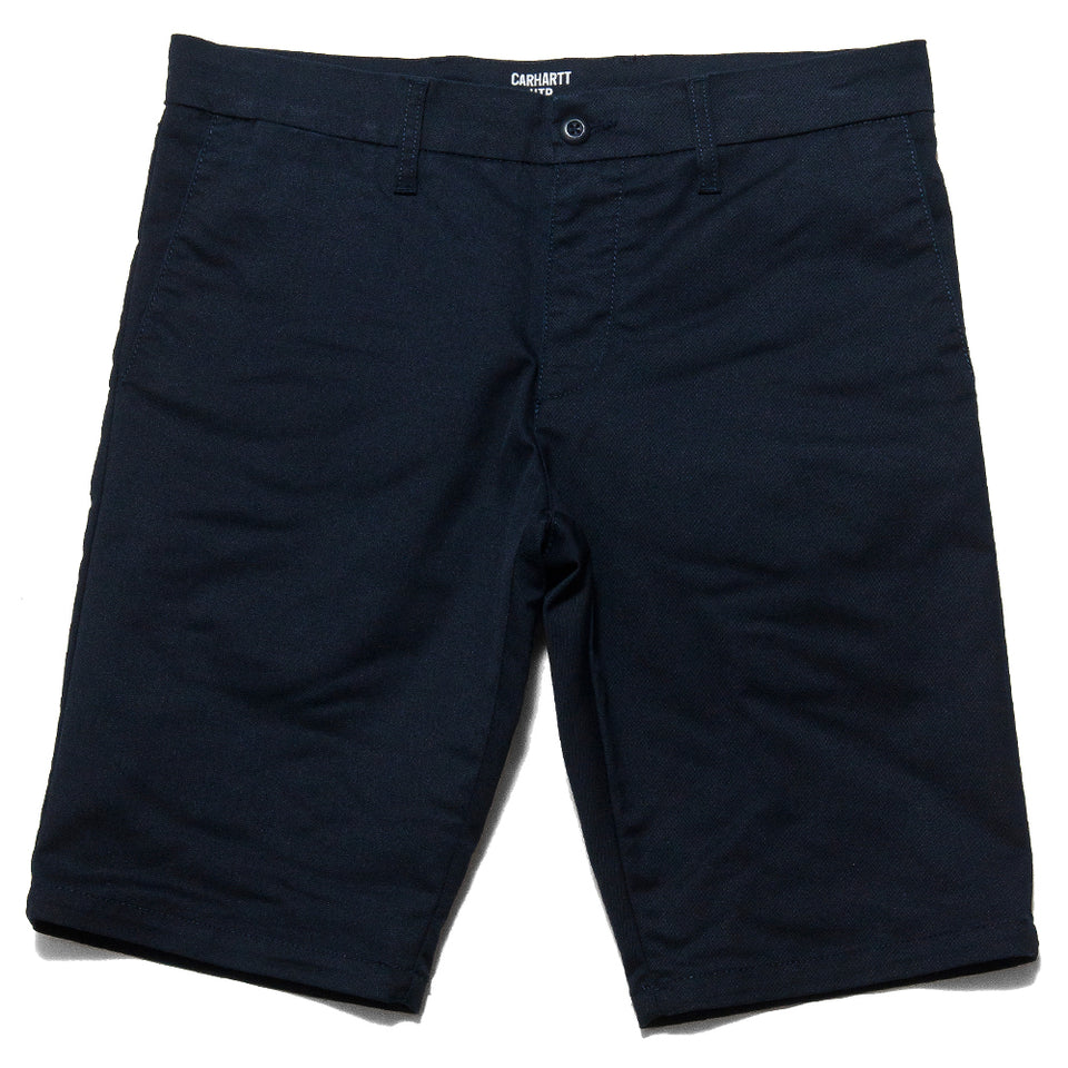 Carhartt W.I.P. Sid Short Navy Rinsed at shoplostfound, front