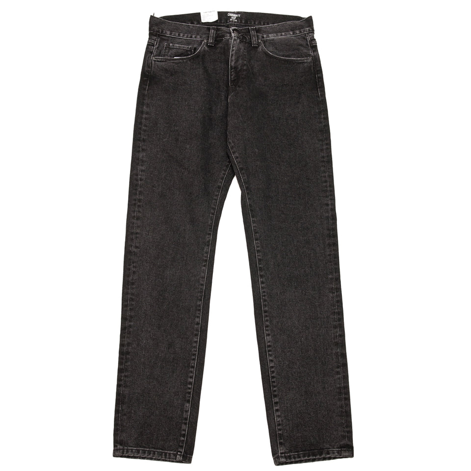 Carhartt W.I.P. Vicious Pant Black Stone Washed at shoplostfound, front