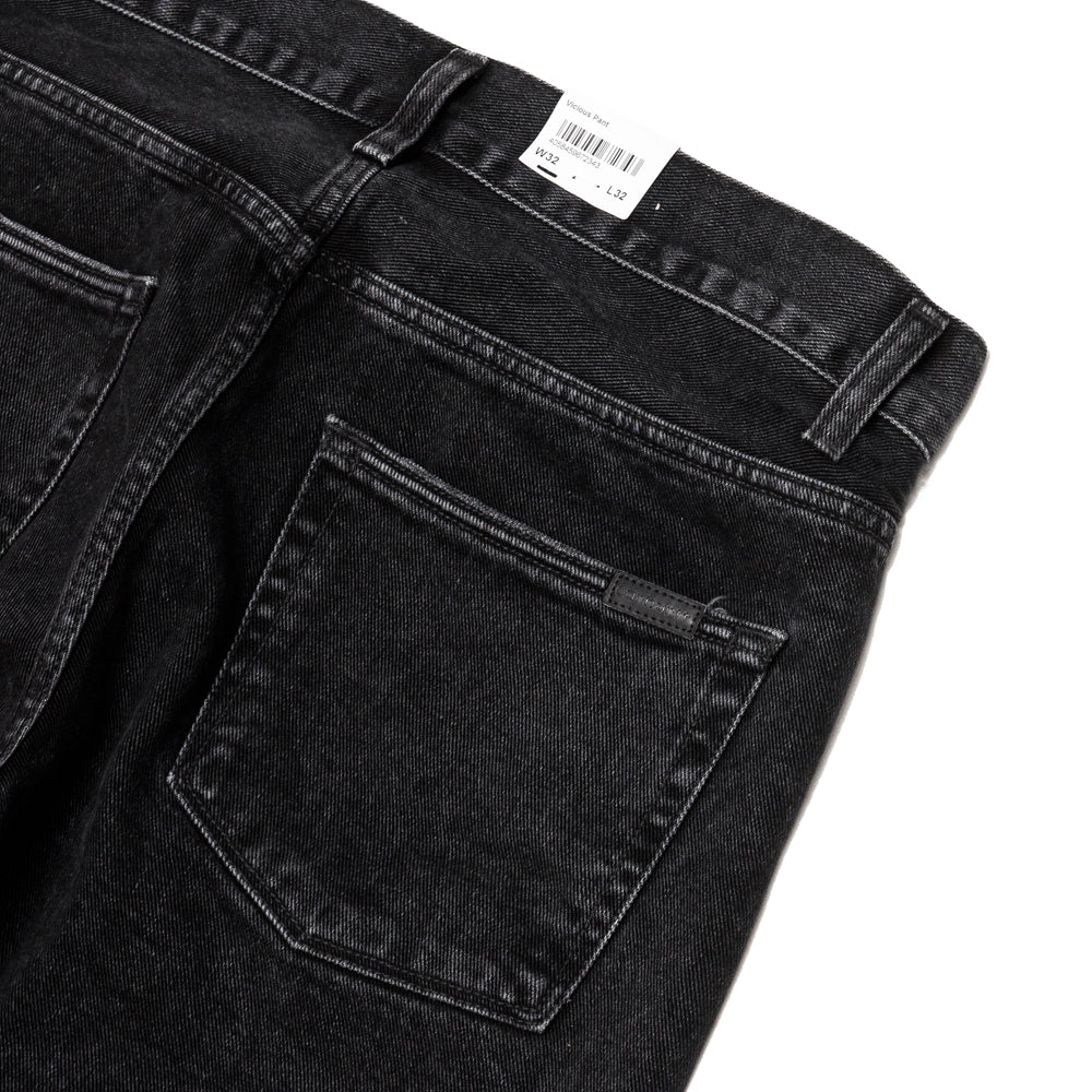 Carhartt W.I.P. Vicious Pant Black Stone Washed at shoplostfound, details