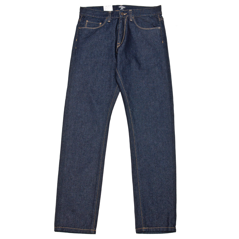 Carhartt W.I.P. Vicious Pant Blue Rinsed at shoplostfound, front