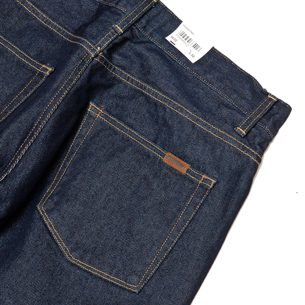 Carhartt W.I.P. Vicious Pant Blue Rinsed at shoplostfound, details