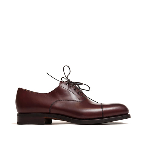 Carmina Dress Oxfords 732 Forest Burgundy Vegano