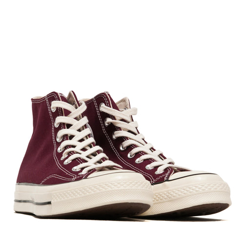 Converse 1970s Hi Dark Burgundy at shoplostfound, front