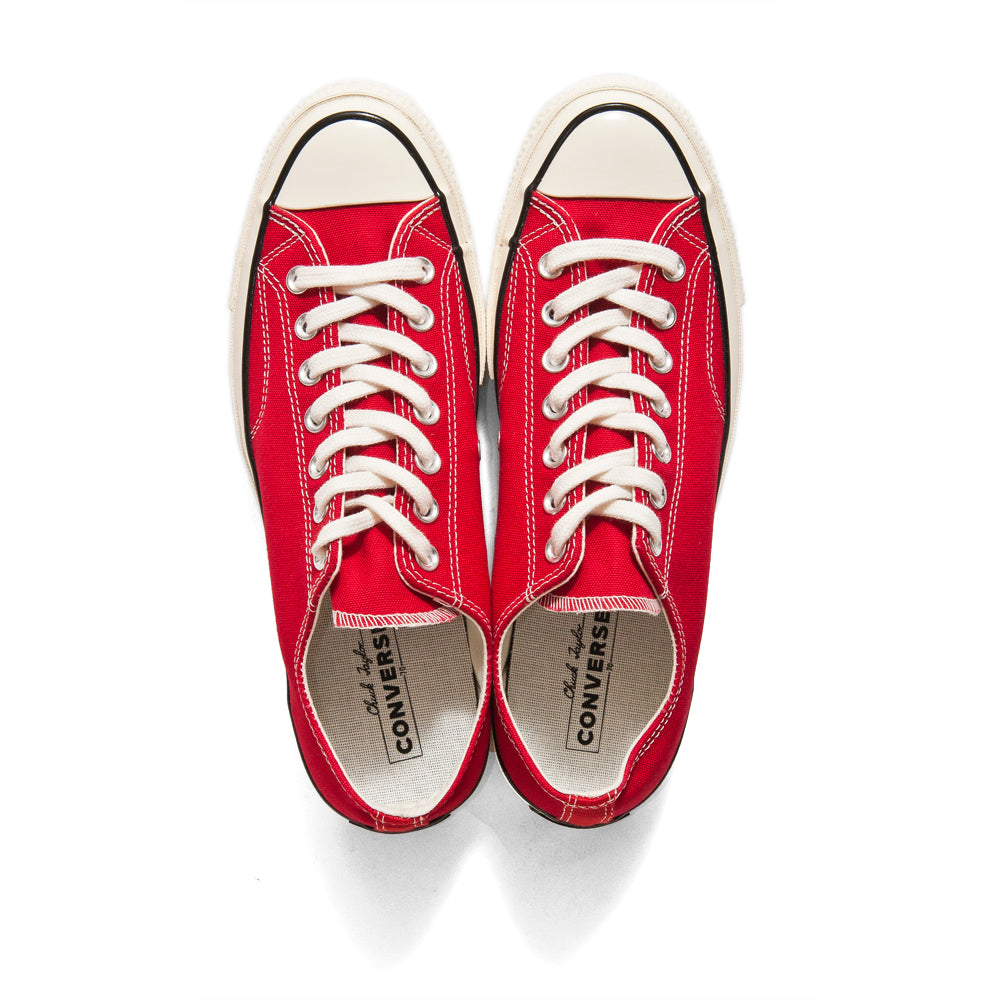 Converse 1970s Low Enamel Red at shoplostfound, top