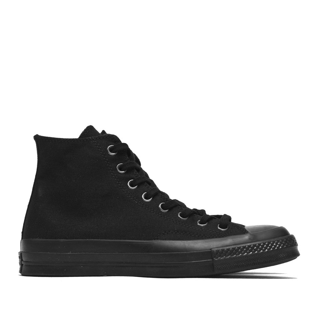 Converse Chuck Taylor 1970s Mono Canvas Black Hi Top 147070C at shoplostfound, side