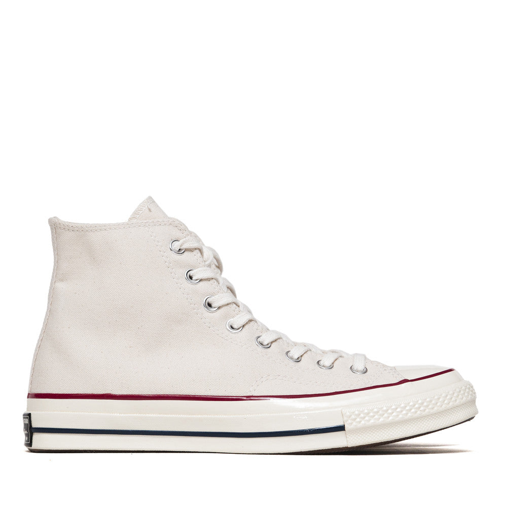 Converse Chuck Taylor 1970s Parchment Canvas Hi Top 144755C at shoplostfound in Toronto, side