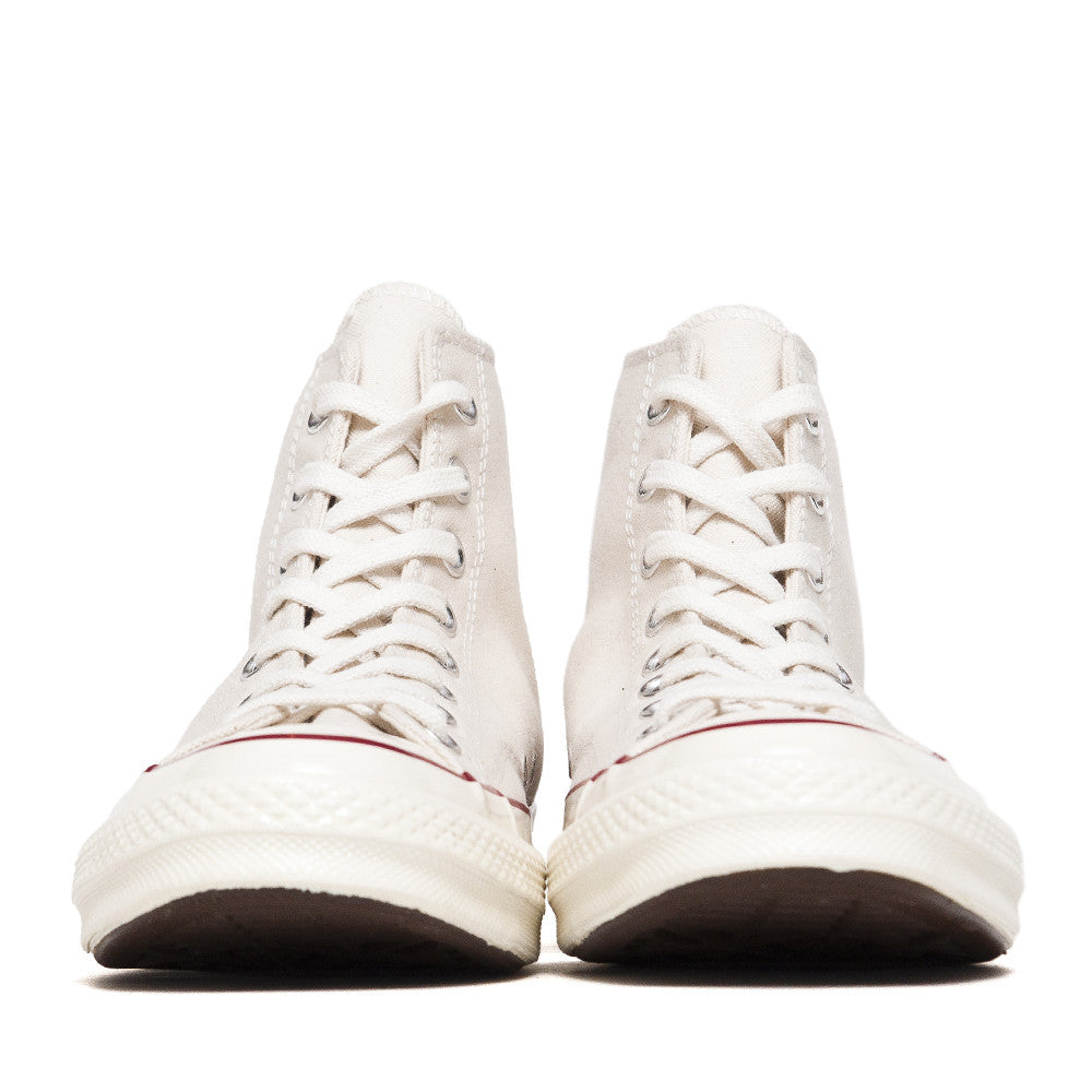 Converse Chuck Taylor 1970s Parchment Canvas Hi Top 144755C at shoplostfound in Toronto, front
