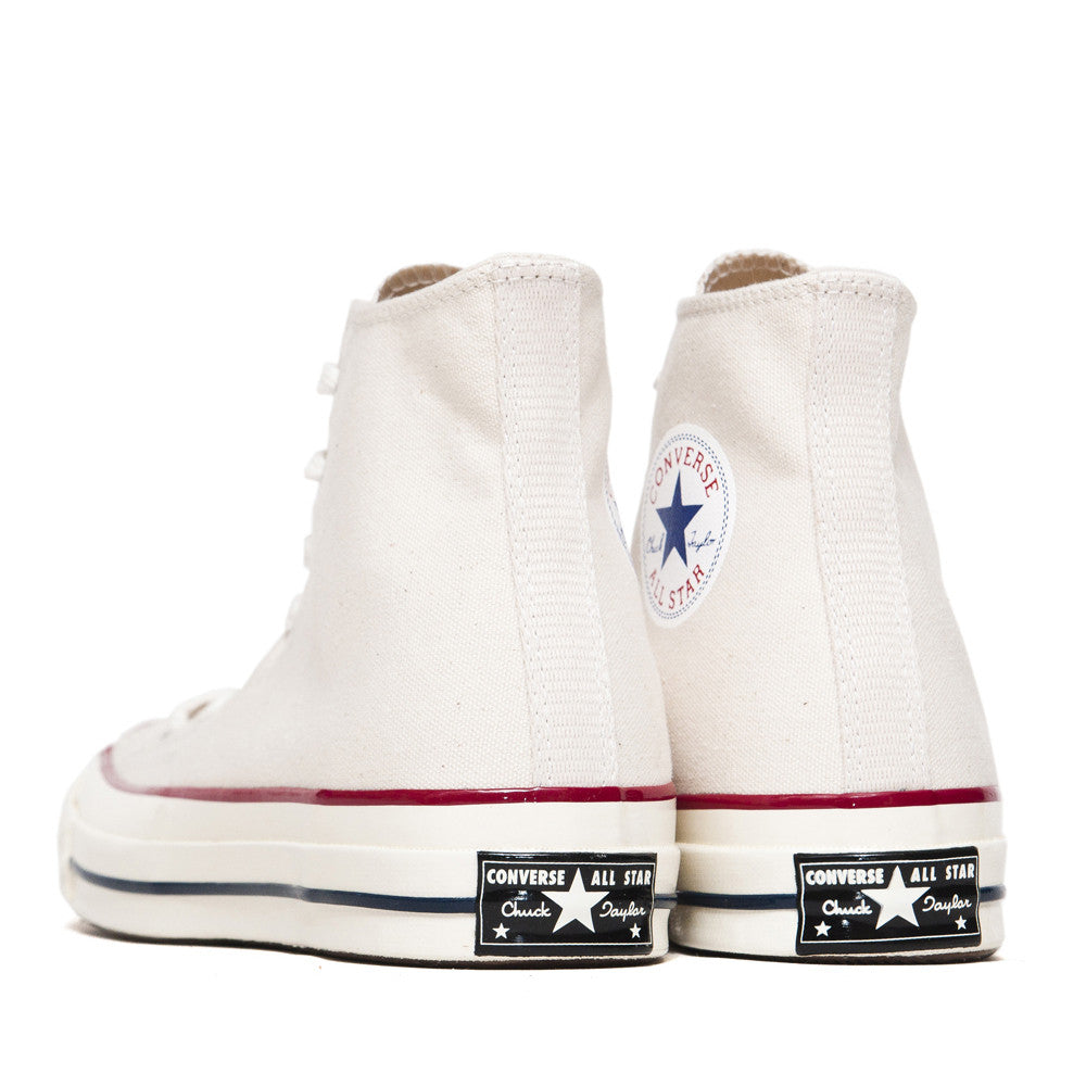 Converse Chuck Taylor 1970s Parchment Canvas Hi Top 144755C at shoplostfound in Toronto, back