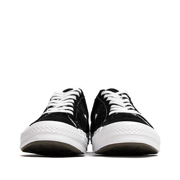Converse One Star Ox Black at shoplostfound, front