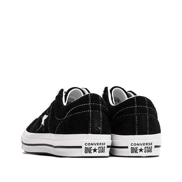 Converse One Star Ox Black at shoplostfound, back