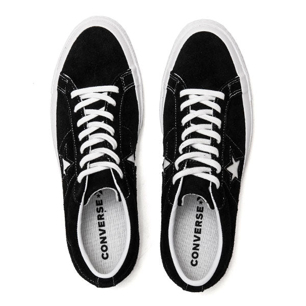 Converse One Star Ox Black at shoplostfound, top