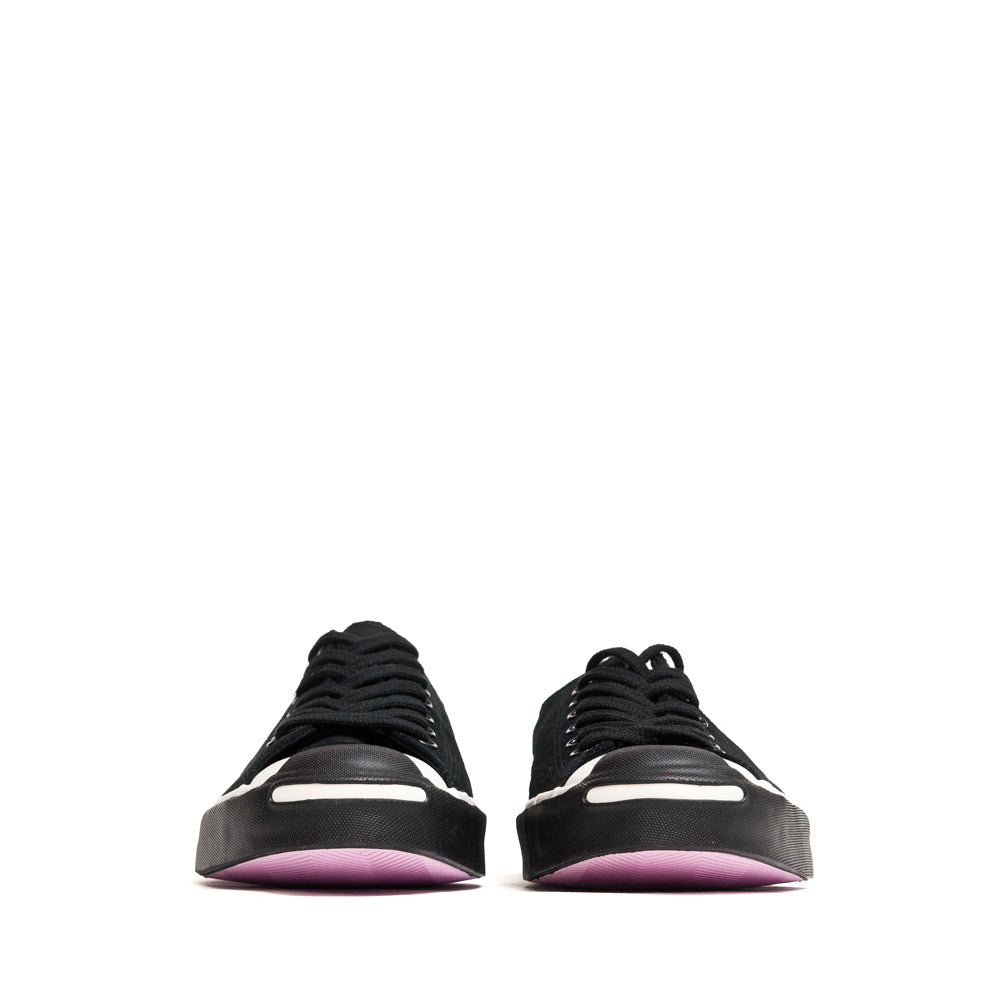 Converse x Neighborhood Jack Purcell Ox Black at shoplostfound, front
