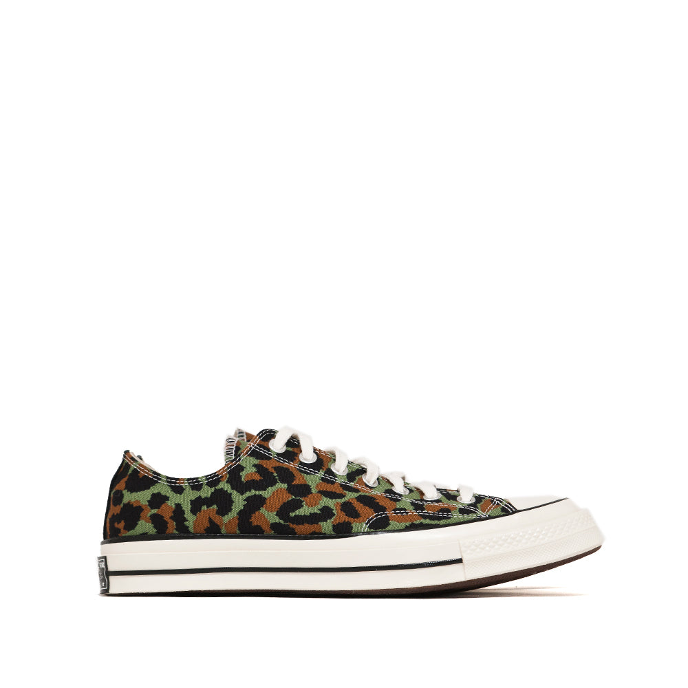 Converse x WACKO MARIA CT 1970s Ox Olive at shoplostfound, side