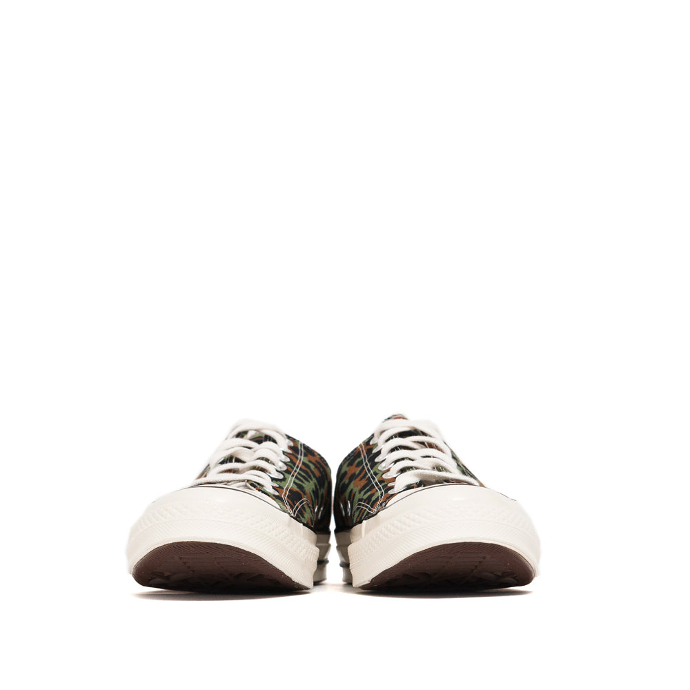 Converse x WACKO MARIA CT 1970s Ox Olive at shoplostfound, front