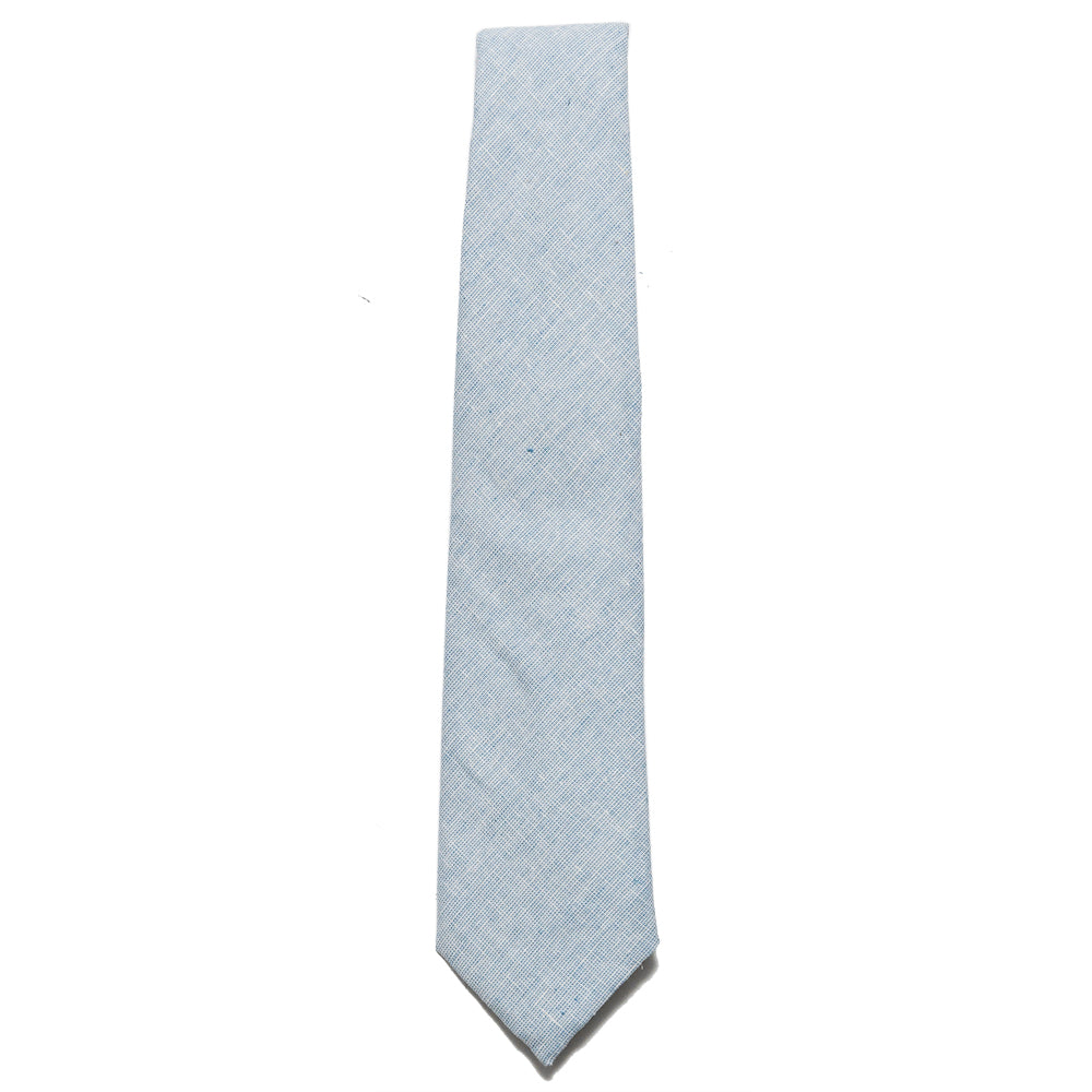 Corridor Basketweave Blue Tie at shoplostfound, top