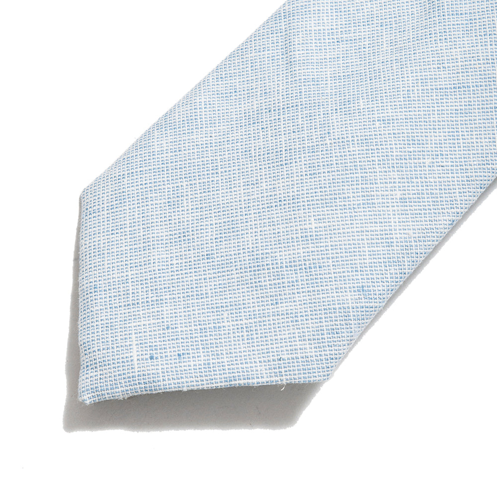 Corridor Basketweave Blue Tie at shoplostfound, detail