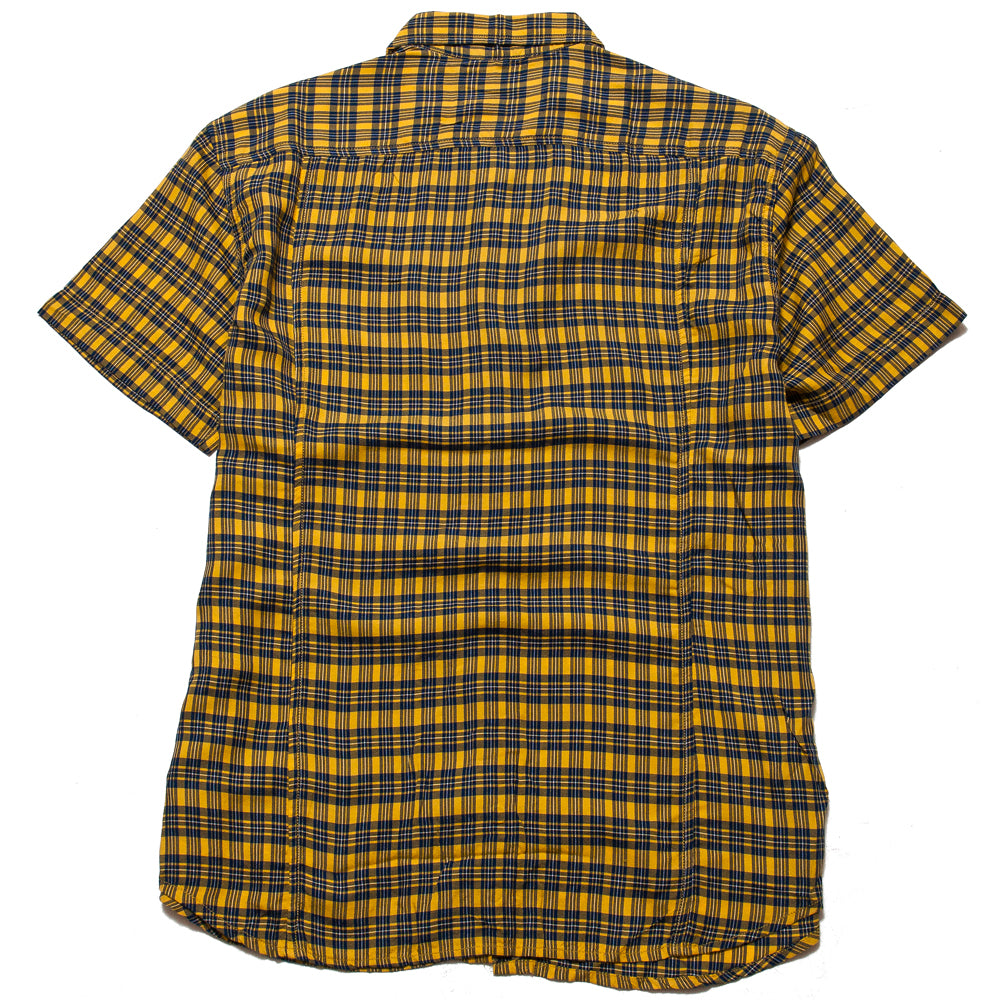 Corridor BBQ Plaid Yellow SS at shoplostfound, back