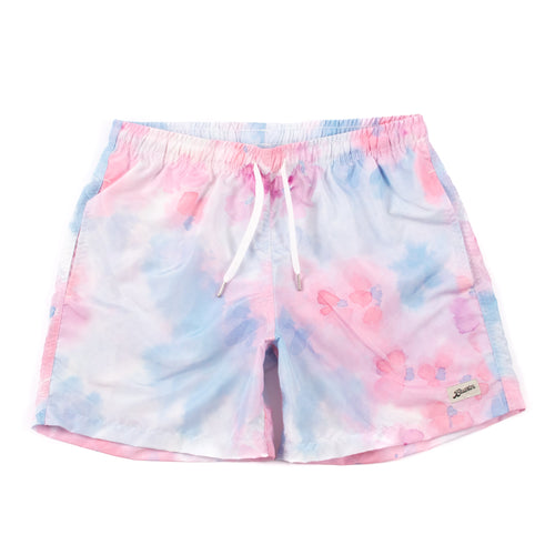 Bather Pink Tie Dye Swim Trunk