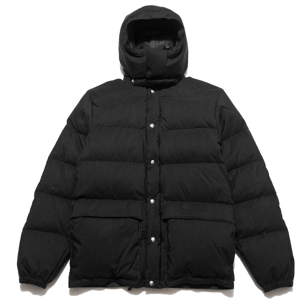 Crescent Down Works 60/40 Classico Parka Black/Black at shoplostfound, front