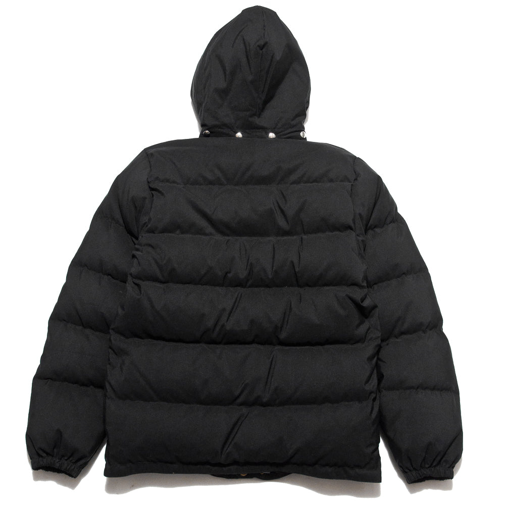 Crescent Down Works 60/40 Classic o Parka Black/Black at shoplostfound, back