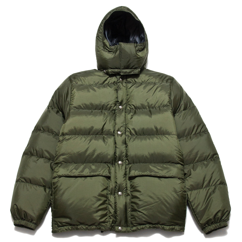 Crescent Down Works 60/40 Classico Parka Olive/Grey at shoplostfound, front