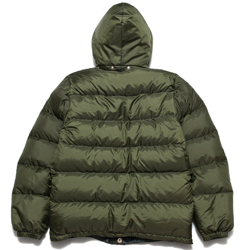 Crescent Down Works 60/40 Classico Parka Olive/Grey at shoplostfound, back