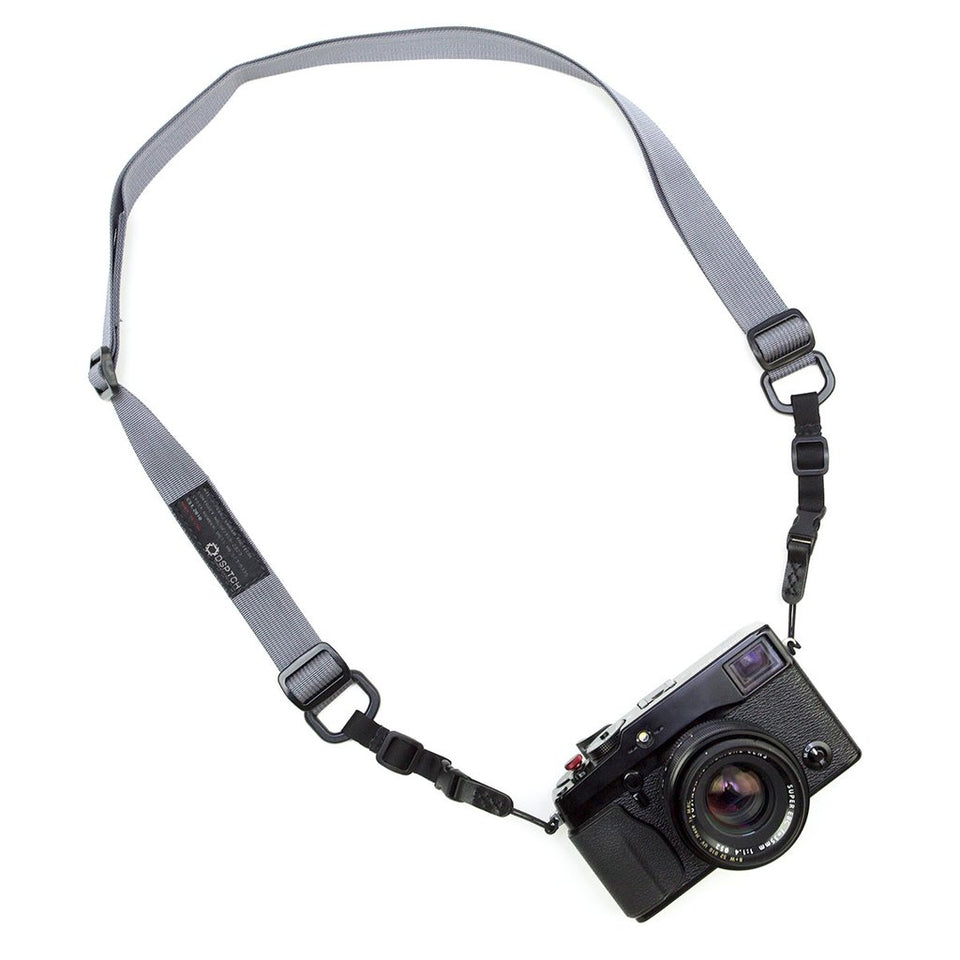 DSPTCH Standard Camera Sling Strap Grey at shoplostfound, 1