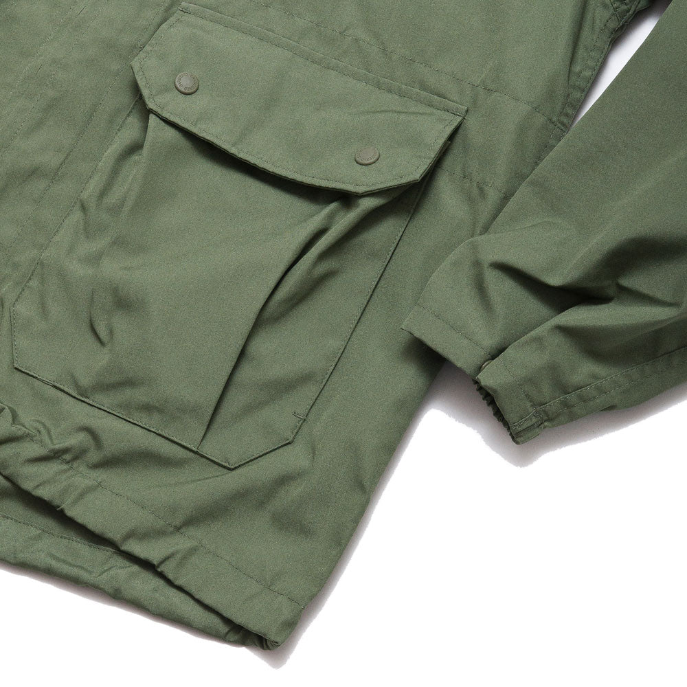 Engineered Garments Atlantic Parka Olive PC Poplin shoplostfound, 4