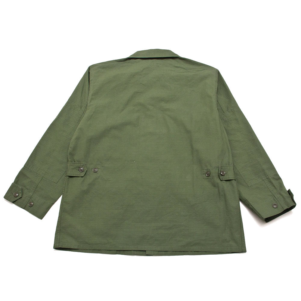 Engineered Garments BDU Jacket Olive Cotton Ripstop shoplostfound 2