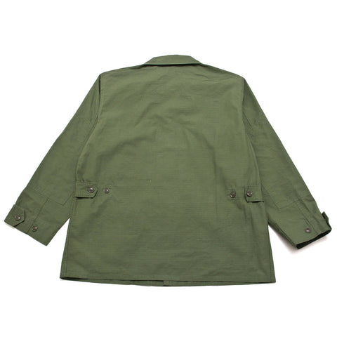 Engineered Garments BDU Jacket Olive Cotton Ripstop shoplostfound 1