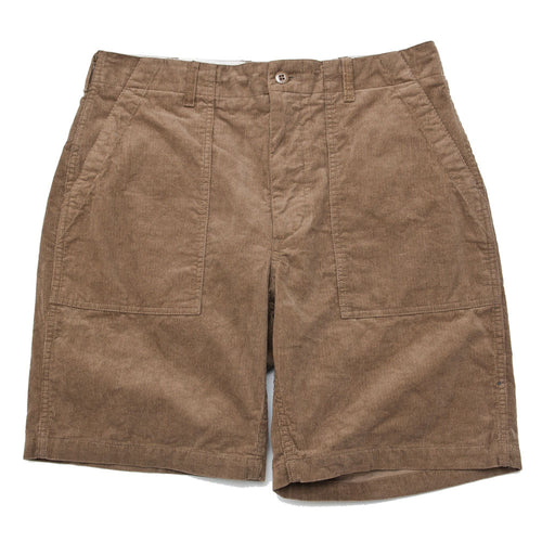 Engineered Garments Fatigue Short Khaki 14W Corduroy shoplostfound front